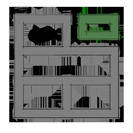 Дом от заводов - каменные дома